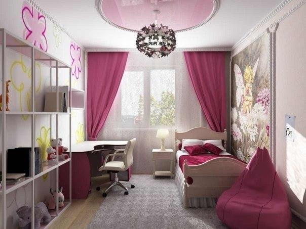 Фото детской комнаты для девочки идеи