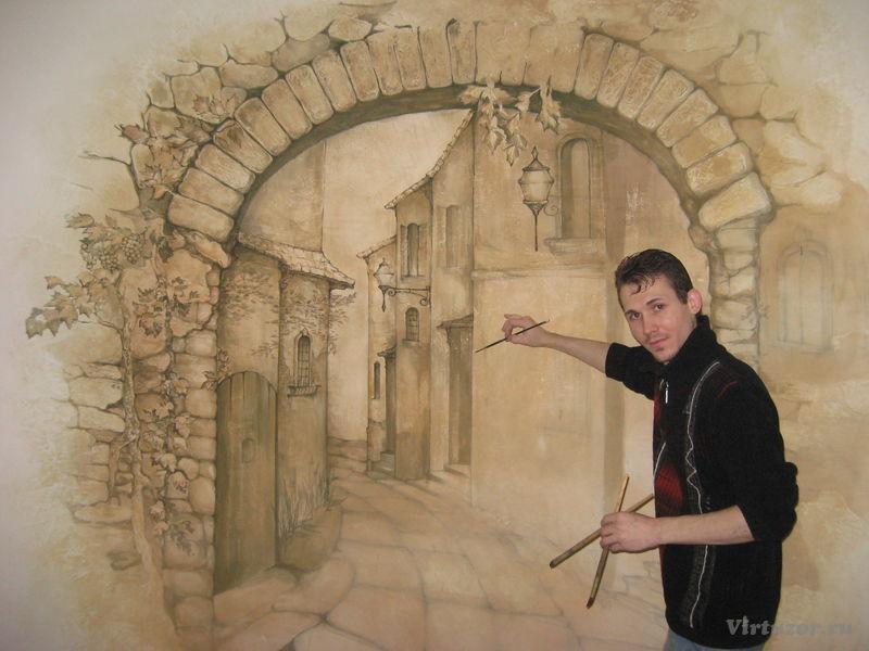 Художественная роспись - уникальное творение