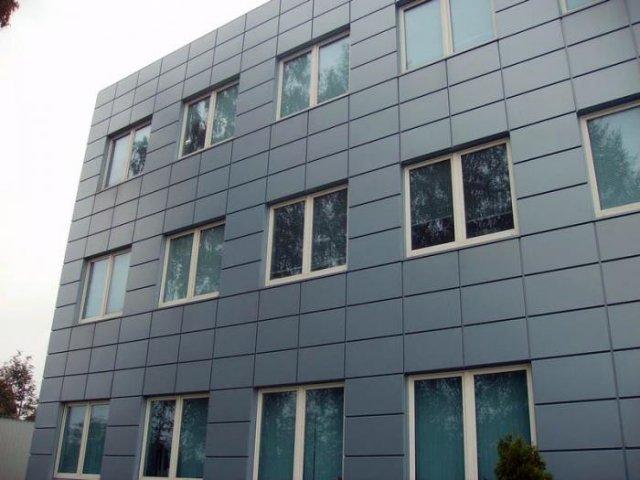 Современная технология отделки фасада спец. панелями