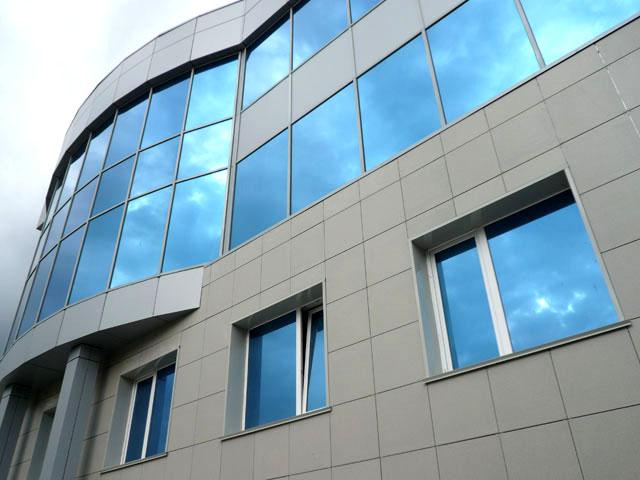 Готовый проект вентелируемого фасада для офисного здания