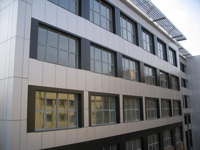 Готовое офисное здание из панелей