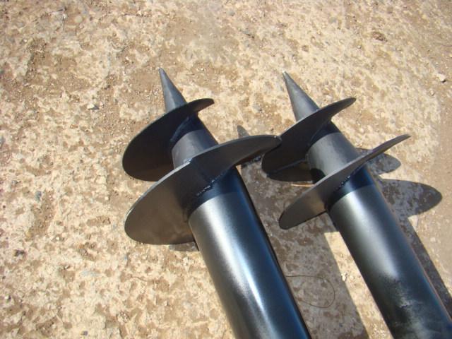 Инструмент для бурение отверстия для винтового фундамента